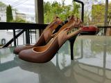 Босоножки Lanvin Brown Leather, оригинал