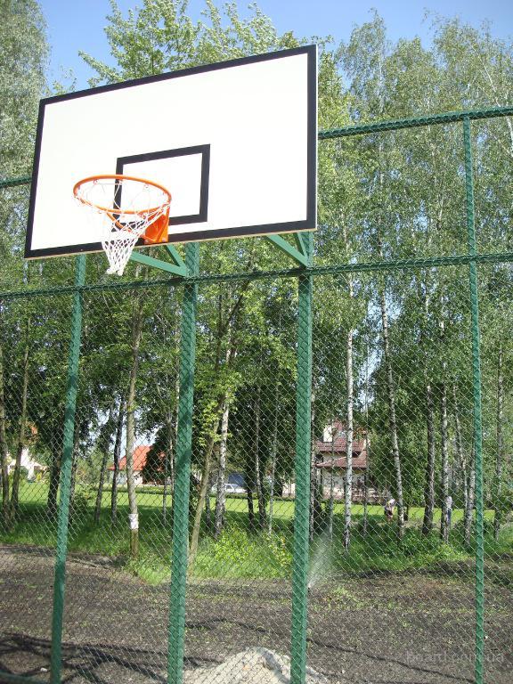 Баскетбольный щит уличный фото