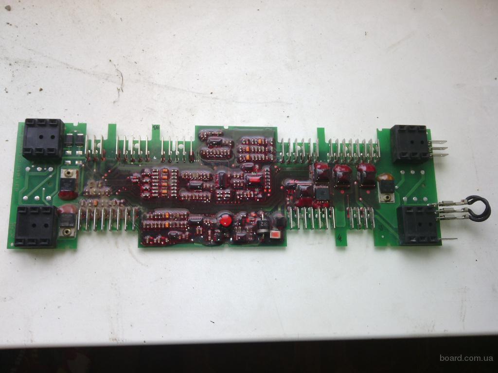 Ремонт электронных плат  управления MBB Liftsystems Hubfix Palfinger