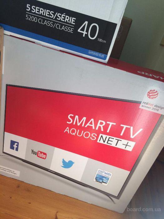 Новый телевизор Sharp LC-55CFE6352E Smart TV WI-FI