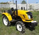 Мини-трактор DongFeng-244 (ДонгФенг-244) желтый