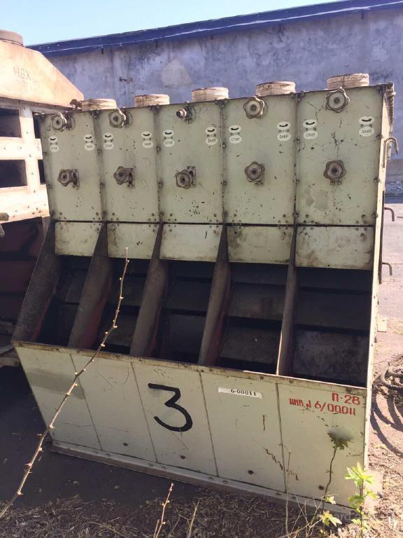 Машина семеновеечная марки НВХ производительностью 100 т/сут Для Маслоцеха