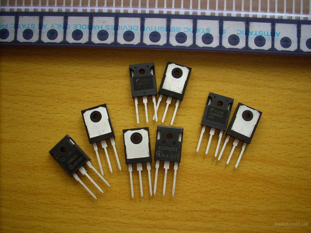 IGBT транзисторы K50H603, G50H603, K50EH5 и др.