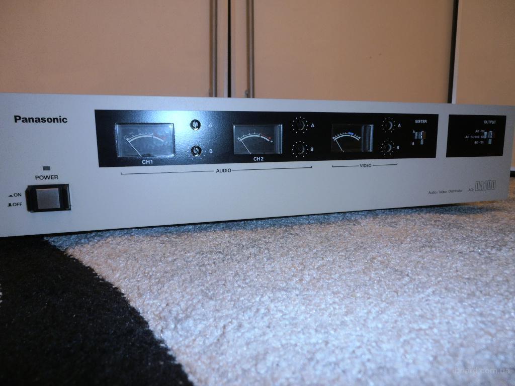 Распределитель усилитель аудио - видео сигналов Panasonic AG-DA100-E Made in Japan
