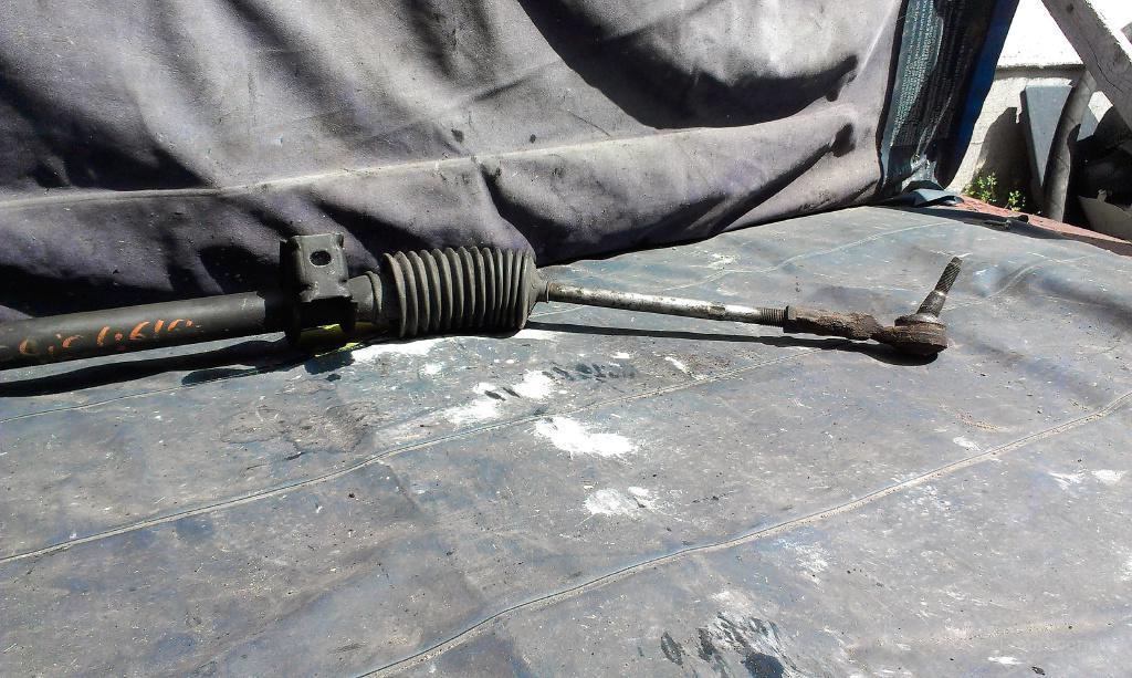 Ремонт рулевой рейки рено клио своими руками