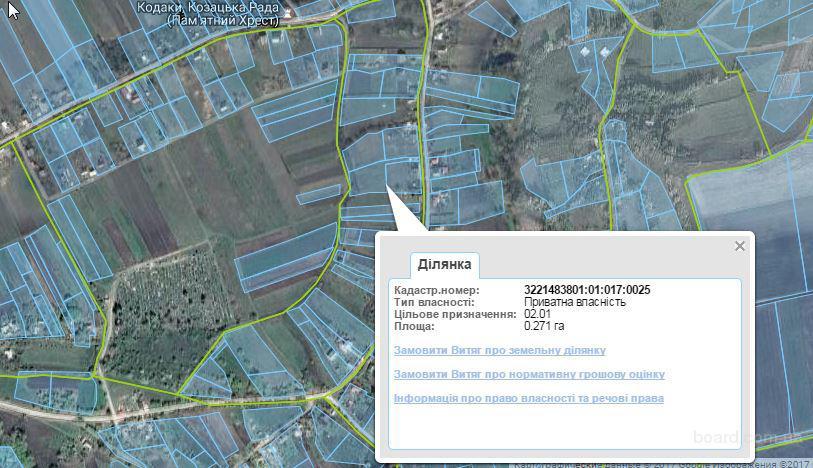 Продам земельный участок в Кодаках