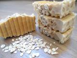 Натуральное мыло Овсяное с медом