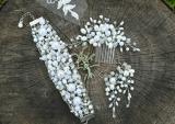 Свадебный набор из жемчуга