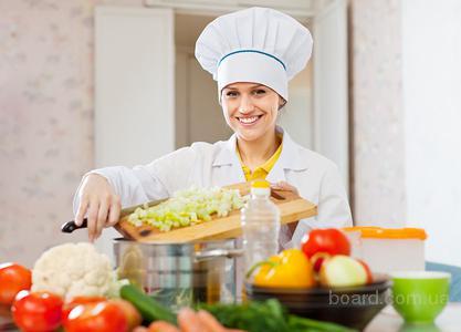Услуги повара; (услуги домашнего повара у вас на дом)