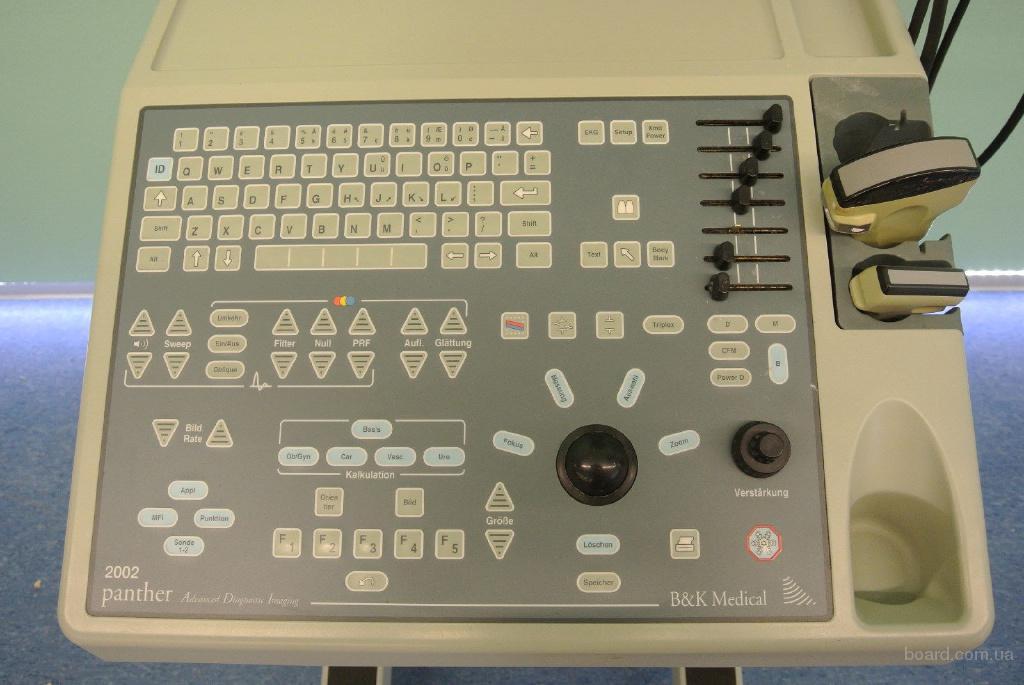 panther 2002 bk ultrasound machine