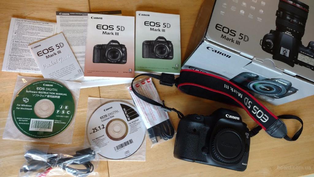 Canon EOS 5D Mark III 22.3MP Цифровая зеркальная камера: Whatsap номер: +447452264959