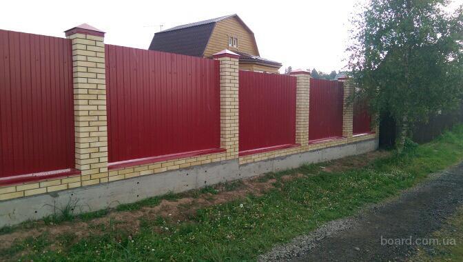 Монолитно-ленточный фундамент – надёжная основа под качественный забор