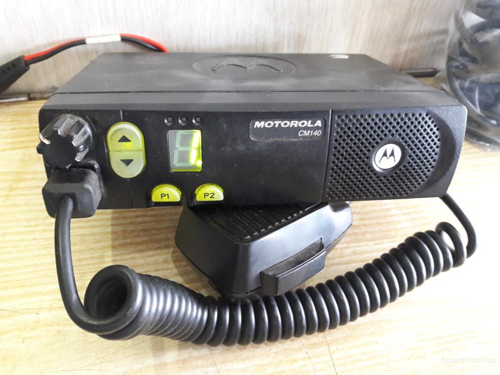 Рация Motorola CM-140, радиостанция, б.у.