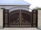 Кованые ворота, калитки, ограждения решетки на окна и решетчатые тамбурные двери. Цены от производителя!