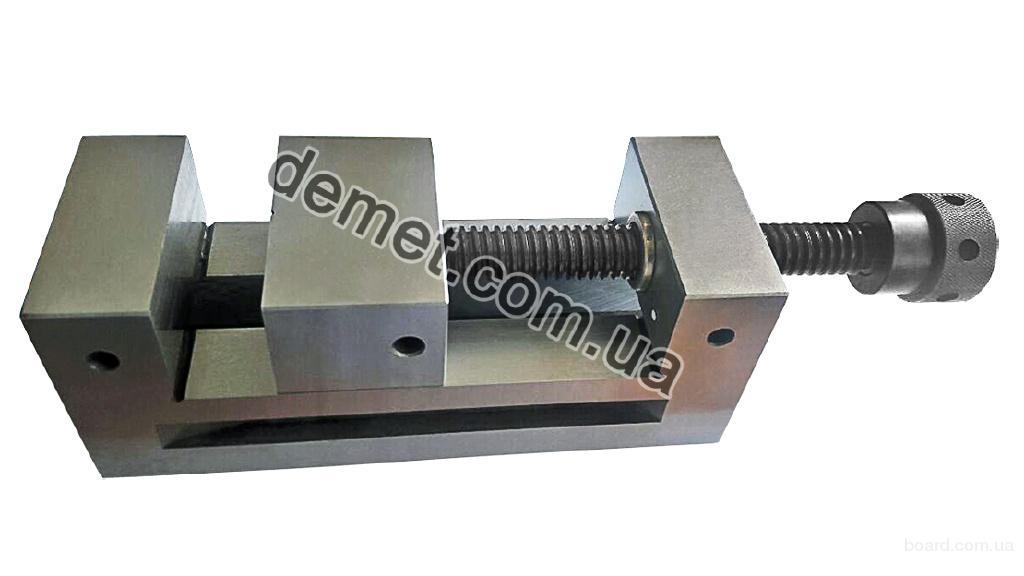 Тиски лекальные прецизионные QGG 125 (ширина губок - 125 мм, 20 кг)