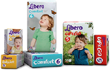 Подгузники детские Libero Comfort (Либеро комфорт)
