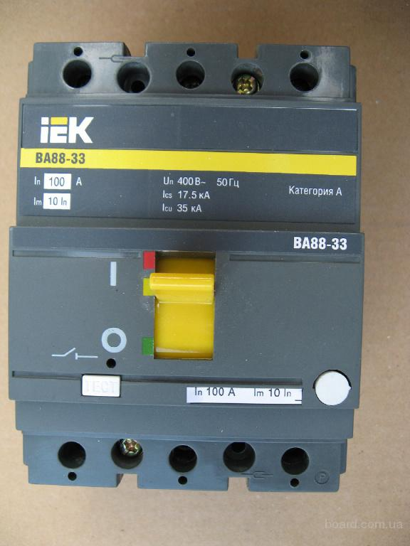 Выключатель ВА77-1-125;ВА88-32;ВА51-31;АЕ2033;АЕ2036;АЕ2043;АЕ2044;АК50Б-3М;АК63-3МУ3;АК63-2МУ3;G21U;G2UX50M;А3124;А3716