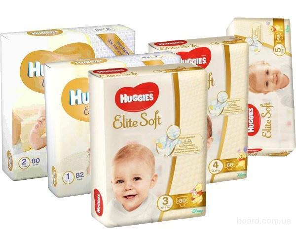 Подгузники huggies элит софт 3 5-9кг