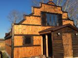 ЕкоБудинок з дерева в селі Сулимовка Бориспольского району під Києвом