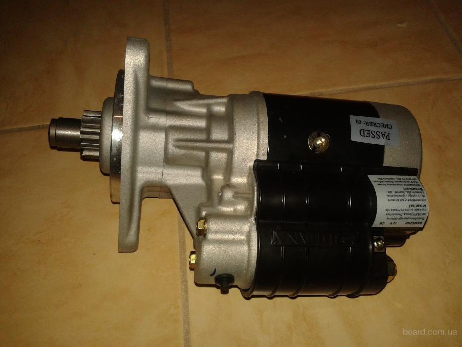 Стартер редукторный Jubana 12 В, 2,8 кВт (усиленный) МТЗ, ЮМЗ, Т-40, Т-25, Т-16