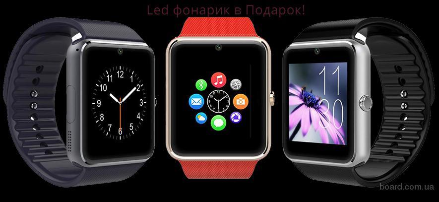 Мужские смарт часы Smart watch GT08/ A1 Android OS. Аналог Applе.