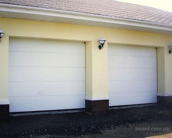 Автоматические въездные ворота на дачу