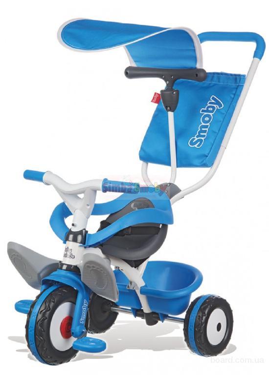 Велосипед трехколесный Baby Balade Smoby 444208 (синий)