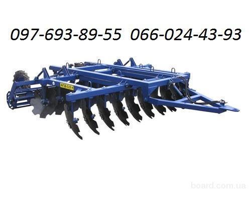 Дискаторы БДМ, машины для обработки почвы. Навесной.