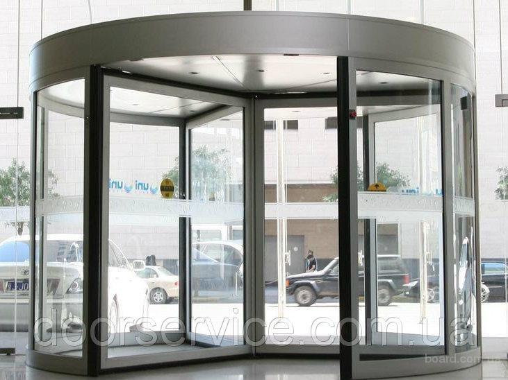 Двери карусельные автоматические