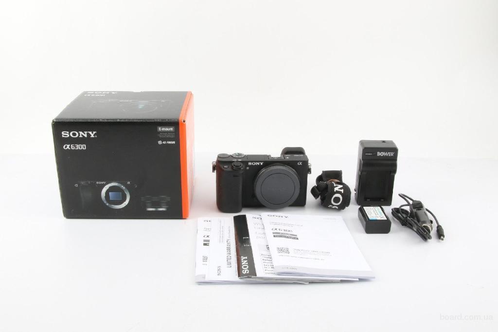 Sony Alpha a6300 Зеркальная цифровая камера с 16-50-мм объективом