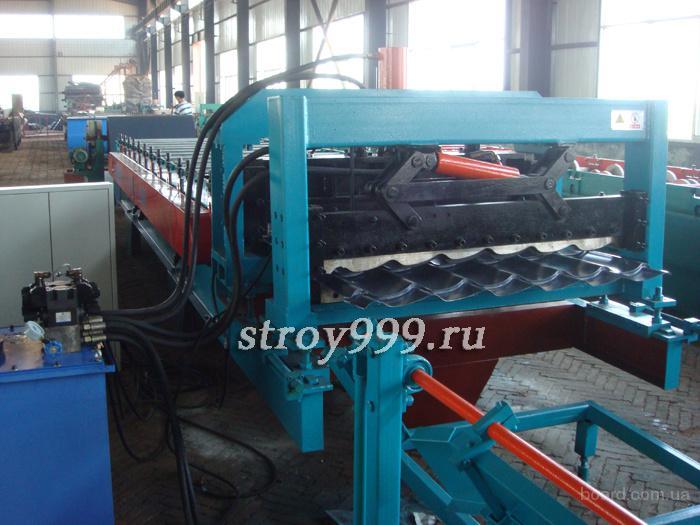 Производство металлочерепицы: сырье и оборудование