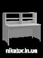 Стол лабораторный с верхней надстройкой СЛ-001.02