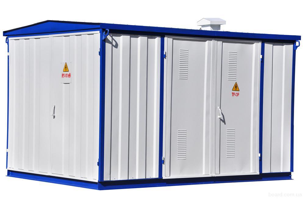 Подстанции трансформаторные комплектные КТПГ-100-2500/10(6)0,4 У1 (для городских сетей)
