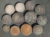 Продам серебряные монеты полтинник 1924 года, рубль