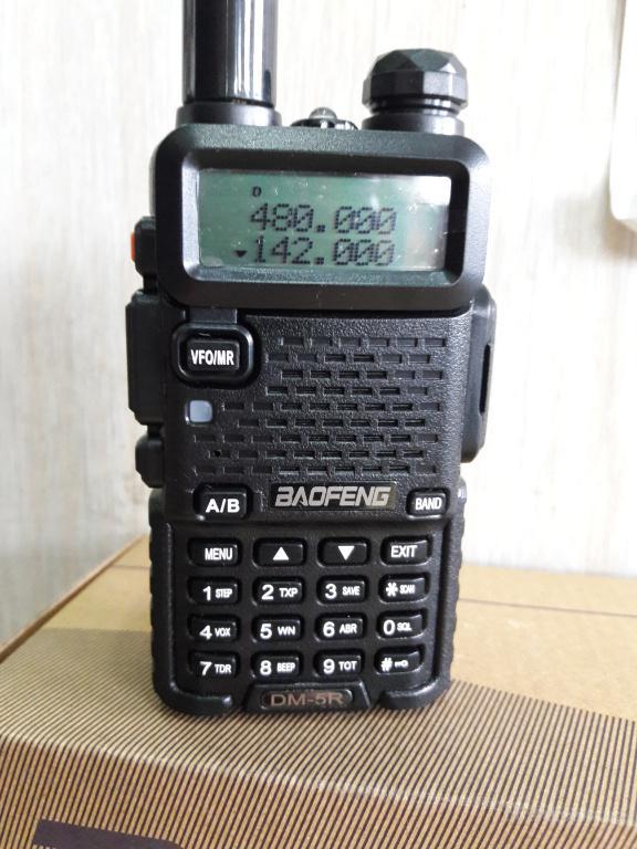 Baofeng DM-5R Plus, аналогово-цифровая радиостанция