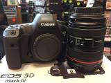 Камера Canon EOS 5D Mark III с тремя объективами Canon L