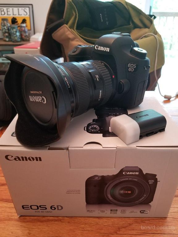 Цифровая зеркальная камера Canon EOS 6D 20.2MP -