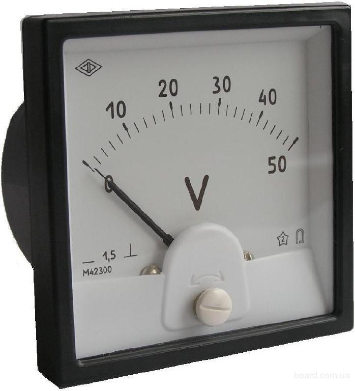 Купим Вольтметр М42300 и Элемент кнопочный КУ-100