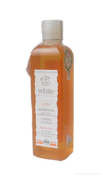 Шампунь серии «Цитрус» для сухих и ломких волос от компании White Mandarin