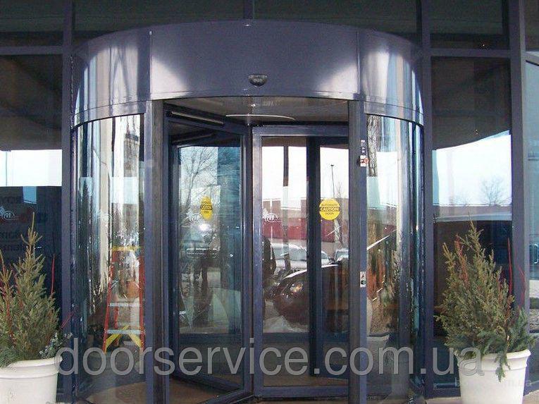 Автоматические карусельные двери цена