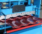 Прямо линия для производства металлочерепицы 840 с китай