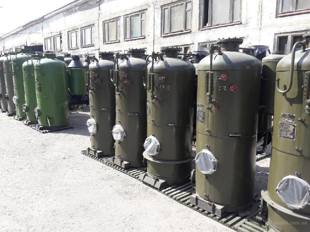 Парогенераторы от 30 до 400кг.пара в час: КП-30, РИ 1ЛС, РИ 5М, РИ 4М .