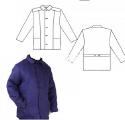 Куртки ватные (от 5 шт) цвет темно-синий. плотная (двойной слой ватина