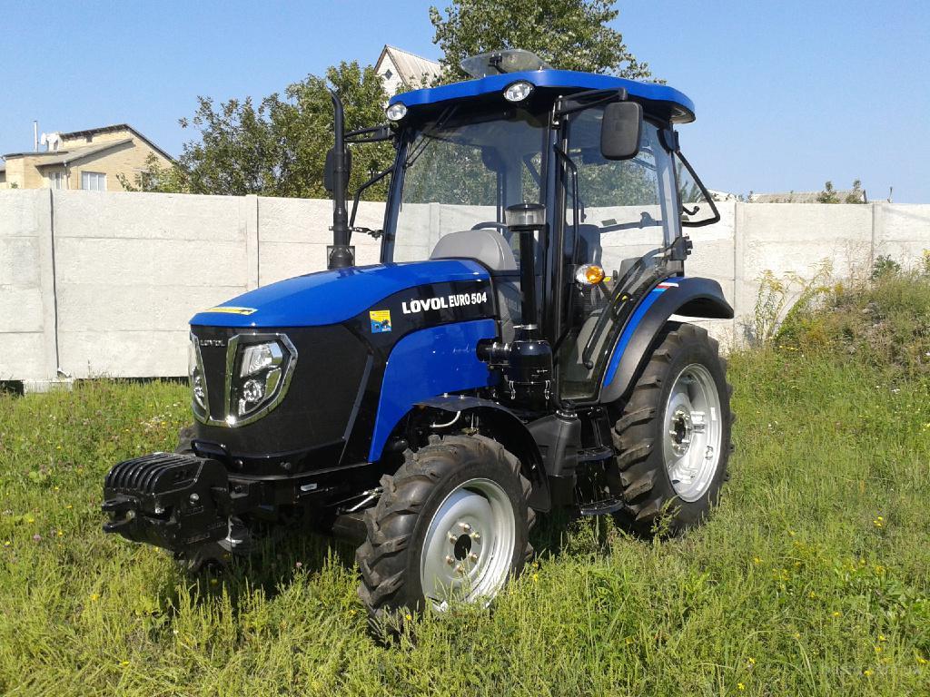 Трактор Lovol/Foton Euro TB-504 (Фотон-504) с кабиной и реверсом