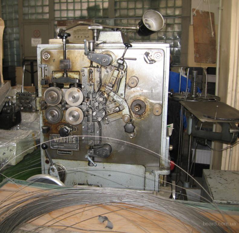 Пружинонавивочный автомат Wafios FS-3 б/у