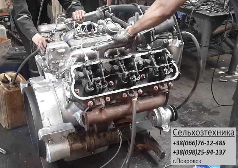 Ремонт двигателя д 65