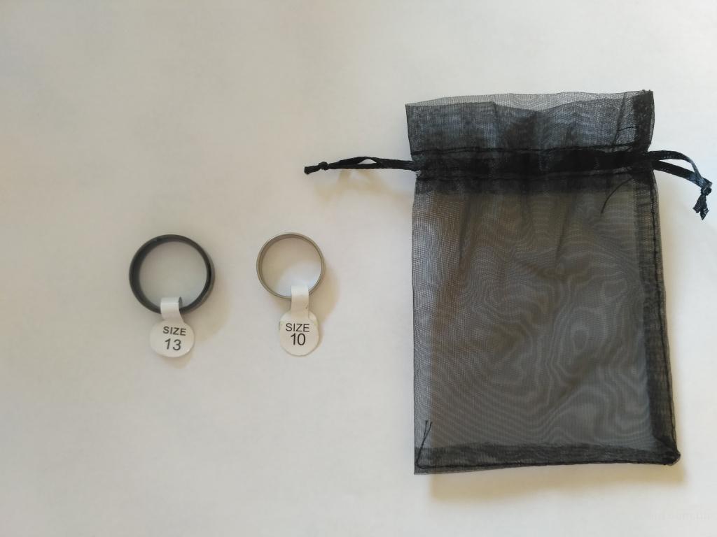 Кольцо 2 шт+мешочек