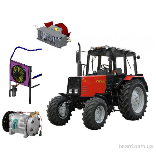Компрессор МТЗ 80 и 82 : устройство, схема и ремонт