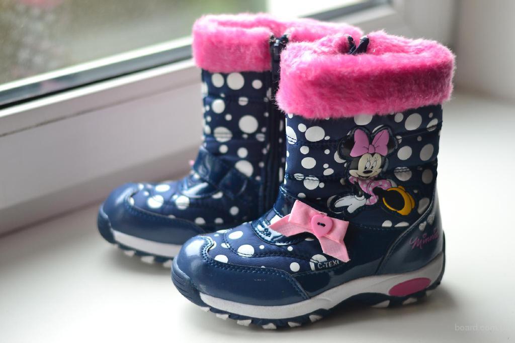 Детские ботинки Minni Mouse