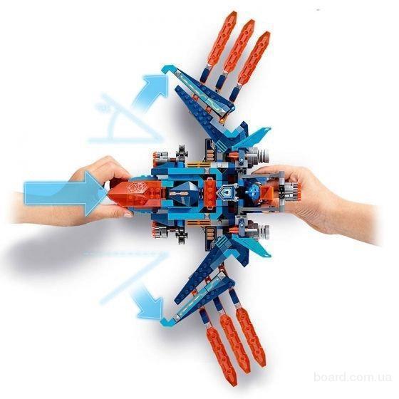 Конструктор Bela Nexo Knights Бур-машина Акселя 405 дет. 10703